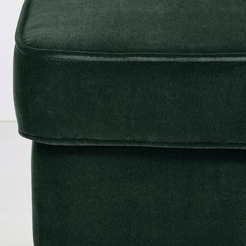 STRANDMON - bangku kaki, Djuparp hijau tua   IKEA Indonesia - PE647256_S4