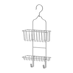 IMMELN - Shower hanger, two tiers, zinc plated