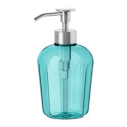 SVARTSJÖN - Soap dispenser, turquoise