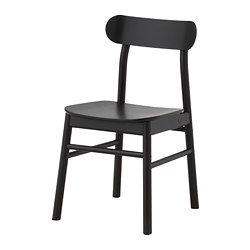 RÖNNINGE - Chair, black