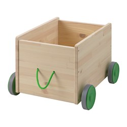 FLISAT - Toy storage with wheels