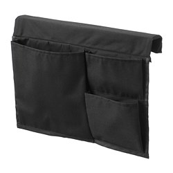 STICKAT - Bed pocket, black