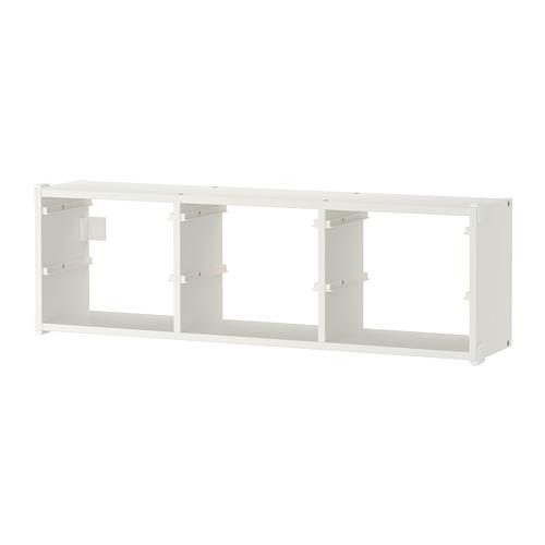 TROFAST - penyimpanan dinding, putih, 99x30 cm | IKEA Indonesia - PE701439_S4