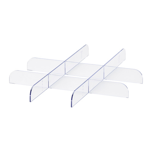 KOMPLEMENT - penyekat untuk alas laci, transparan, 50x58 cm | IKEA Indonesia - PE701711_S4