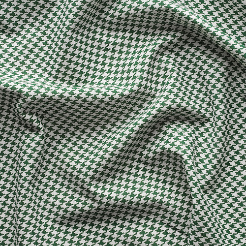 ORDENSFLY - curtains, 1 pair, white/green, 145x250 cm   IKEA Indonesia - PE742926_S4