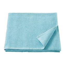 KORNAN - Bath towel, light blue
