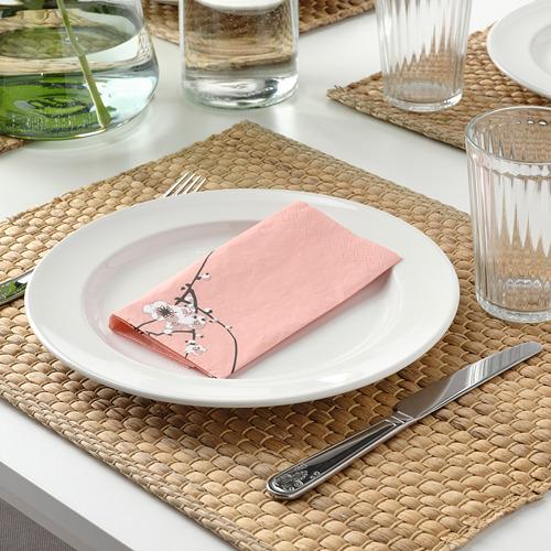 VÅRFINT - paper napkin, flower, 33x33 cm   IKEA Indonesia - PE796914_S4