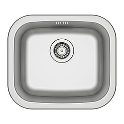 FYNDIG - Single-bowl inset sink, stainless steel