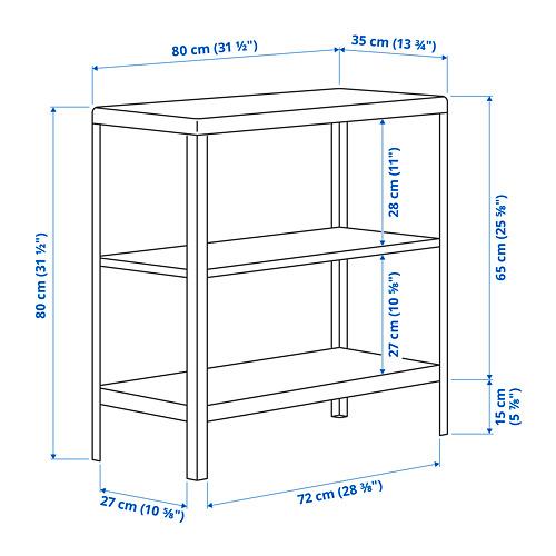 KOLBJÖRN - unit rak dalam/luar ruang, hijau, 80x81 cm | IKEA Indonesia - PE797029_S4