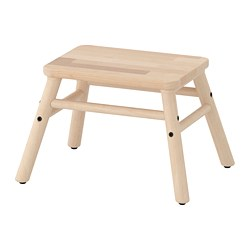 VILTO - Step stool, birch