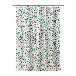 SANDBREDAN - Shower curtain, multicolour