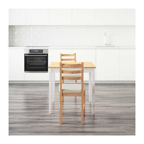 LERHAMN meja dan 2 kursi