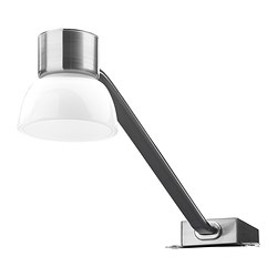 LINDSHULT - LED cabinet lighting, nickel-plated