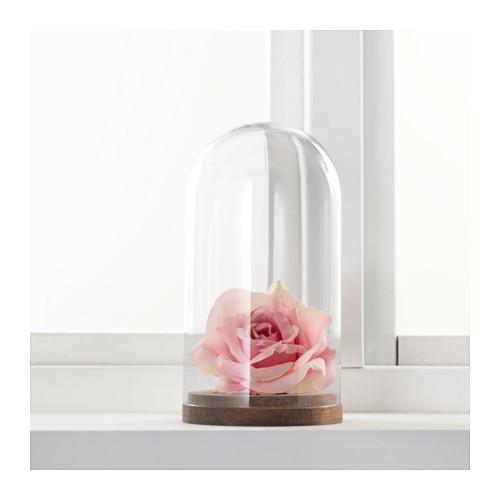 HÄRLIGA kubah display kaca dengan dasar