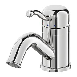 LILLSVAN - Wash-basin mixer tap with strainer, chrome-plated