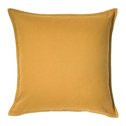 GURLI - Cushion cover, golden-yellow