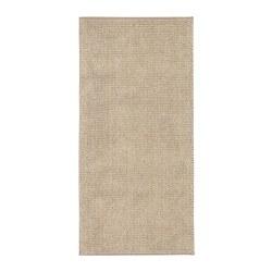 TOFTBO - Bath mat, beige-white mélange