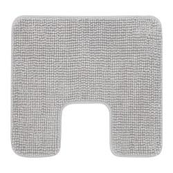 TOFTBO - Pedestal mat, grey-white mélange