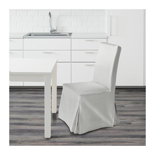 HENRIKSDAL kursi dengan sarung panjang