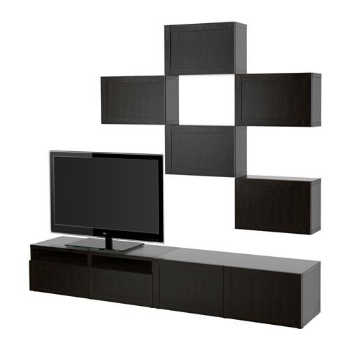 BESTÅ kombinasi penyimpanan TV