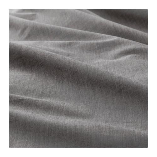 BLÅVINDA sarung quilt dan 4 sarung bantal
