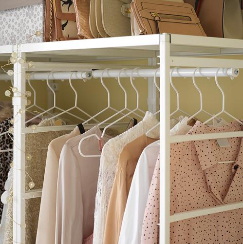 JONAXEL rangka/keranjang jaring/rel pakaian