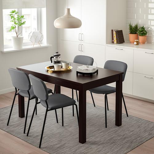 LANEBERG/KARLJAN table and 4 chairs