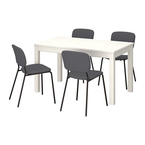 KARLJAN/LANEBERG table and 4 chairs
