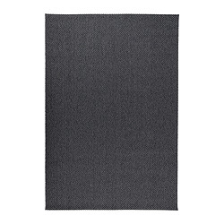 MORUM - Rug flatwoven, in/outdoor, dark grey