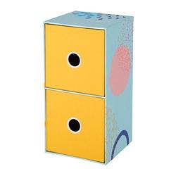 LANKMOJ - Lemari mini dengan 2 laci, aneka warna