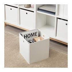 KUGGIS - Storage box, white