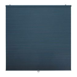 HOPPVALS - Room darkening cellular blind, blue