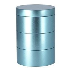 LANKMOJ - Kotak dekorasi, biru