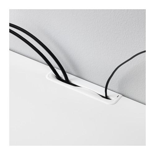 BESTÅ meja TV dengan laci dan pintu