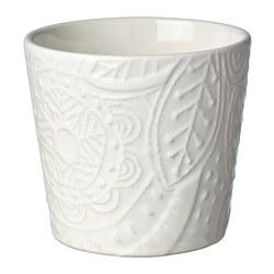 VINTERFEST - Plant pot, white