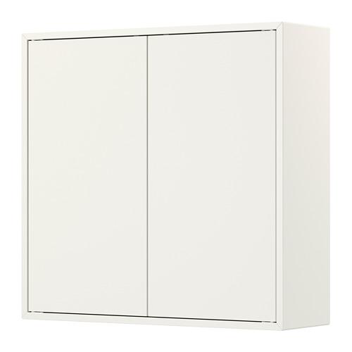 EKET kabinet dengan 2 pintu dan 2 rak