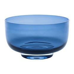 STOCKHOLM 2017 - Bowl, blue/clear glass