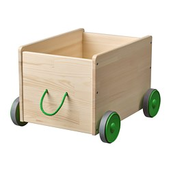FLISAT - Toy storage with wheels