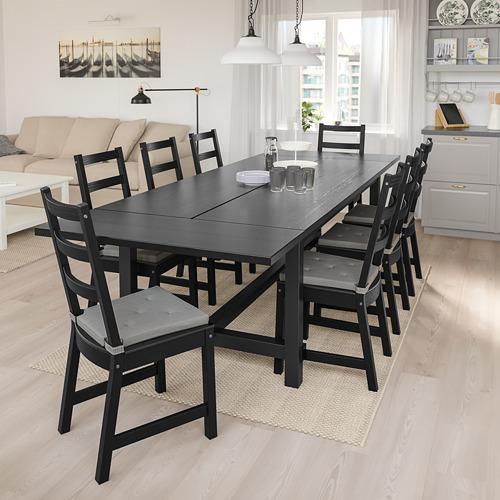 NORDVIKEN/NORDVIKEN table and 6 chairs