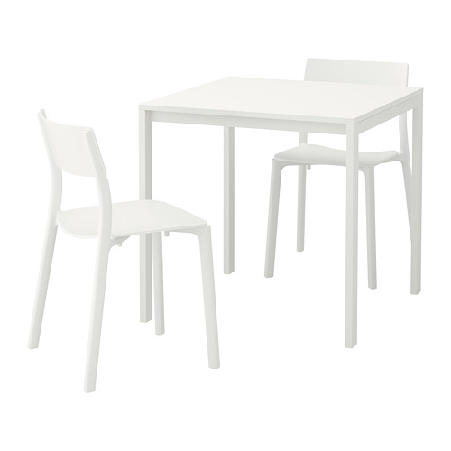 MELLTORP/JANINGE meja dan 2 kursi