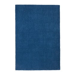 TYVELSE - Rug, low pile, dark blue
