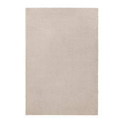 TYVELSE - Rug, low pile, off-white