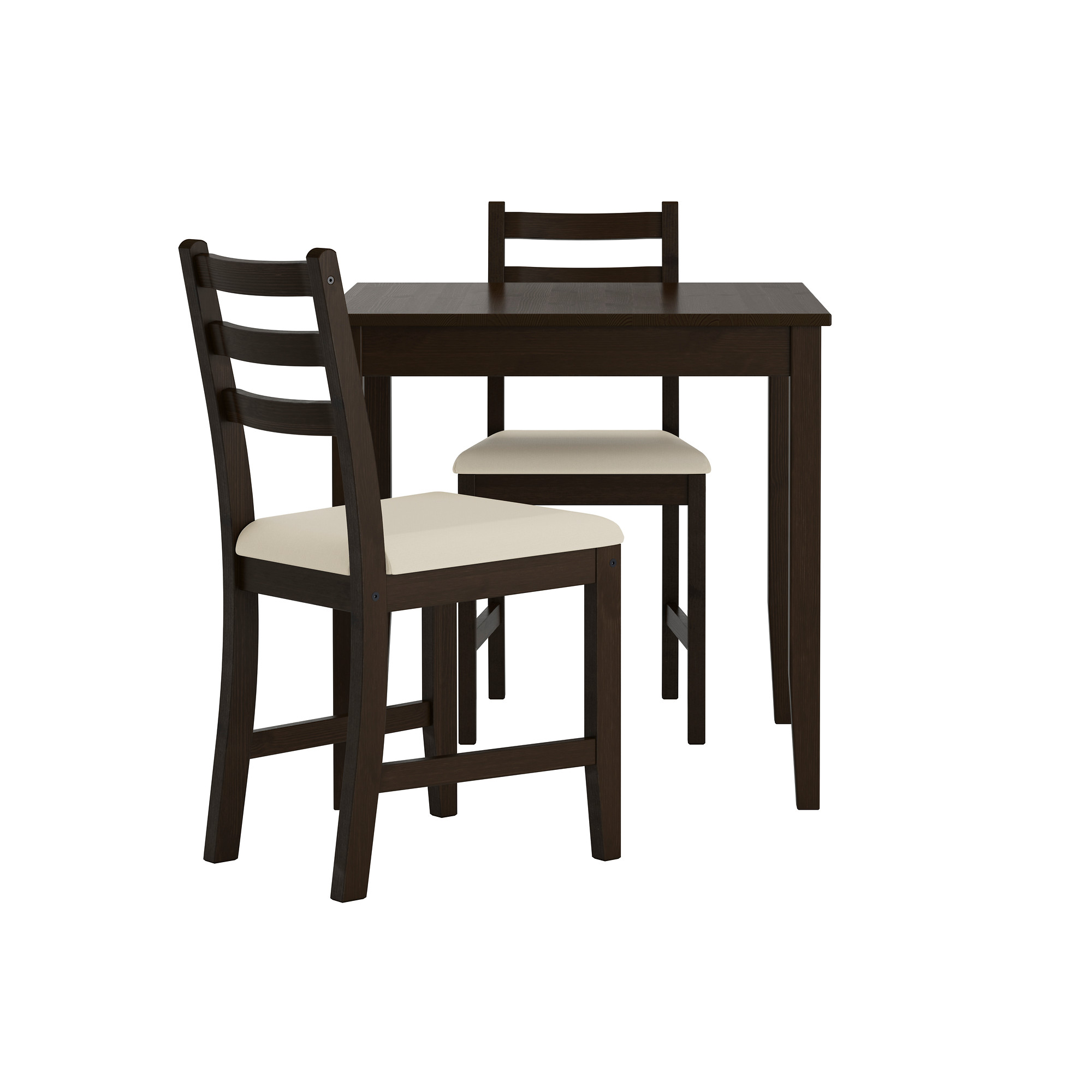 Lerhamn Table And 2 Chairs Black Brown Vittaryd Beige Ikea Indonesia