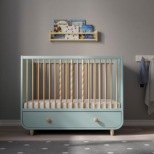 MYLLRA ranjang bayi dengan laci