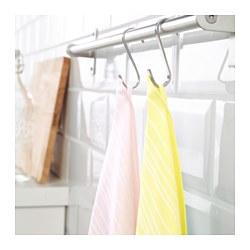TIMVISARE - Lap dapur, kuning/merah muda terang