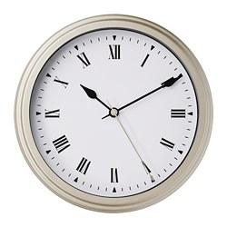 VISCHAN - Wall clock, beige