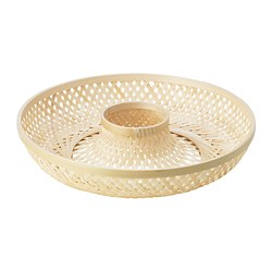 KLYFTA - Serving basket, bamboo