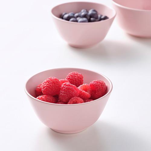 DINERA - bowl, light pink, 11 cm   IKEA Indonesia - PE799033_S4