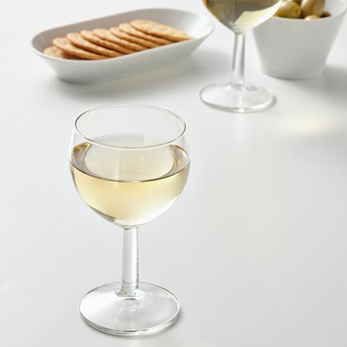 FÖRSIKTIGT - gelas anggur, kaca bening, 16 cl | IKEA Indonesia - PE799050_S4