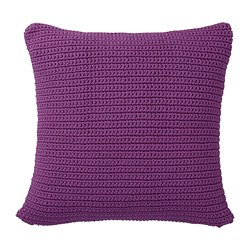 SÖTHOLMEN - Cushion cover, in/outdoor, purple